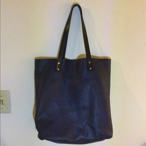 Gap Pebble leather tote bag